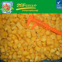 IQF Delicious Frozen fruit mango chunk in good quality in bulk