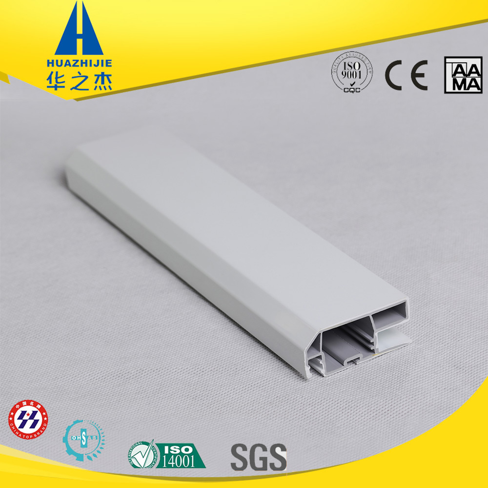 Hot sale upvc pvc extrude plastic white color profile extrusion