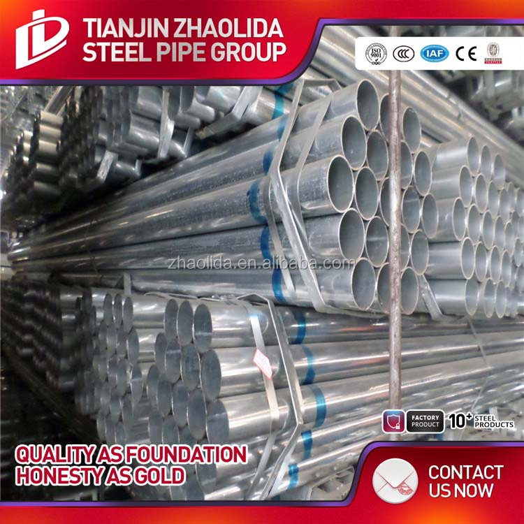 CHS Pre-GI Steel Hollow Section Pipe/www tube com/tianjin galvanized steel pipe