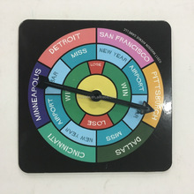 colourful board game spinner