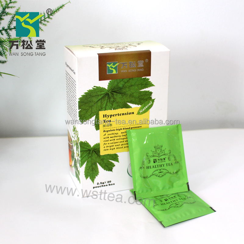 Herbal tea lowering high blood pressure tea fit for hypertension people