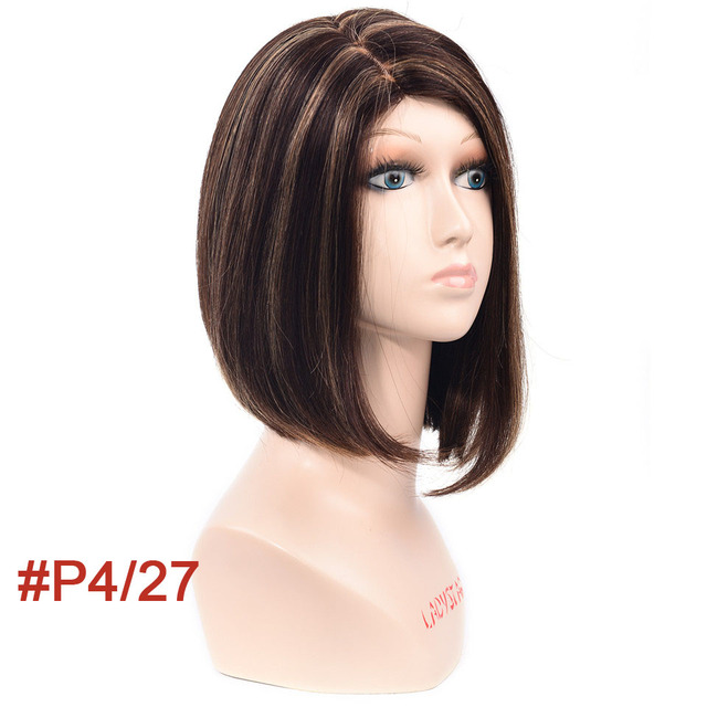 short human hair u part wig for sale