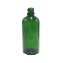 Custom fashion style 100ml green glass essential oil bottle