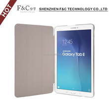 Elegant Leather case with stand fold function leather tablet case cover for Samsung Galaxy Tab E 9.6 Inch