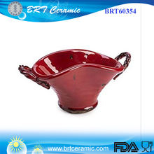 home decor Red color vegetable fruit Ceramic Planter