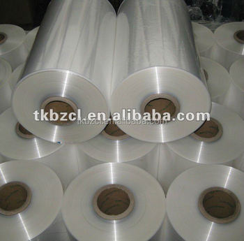 pof shrink film food packing (SGS & BRC)