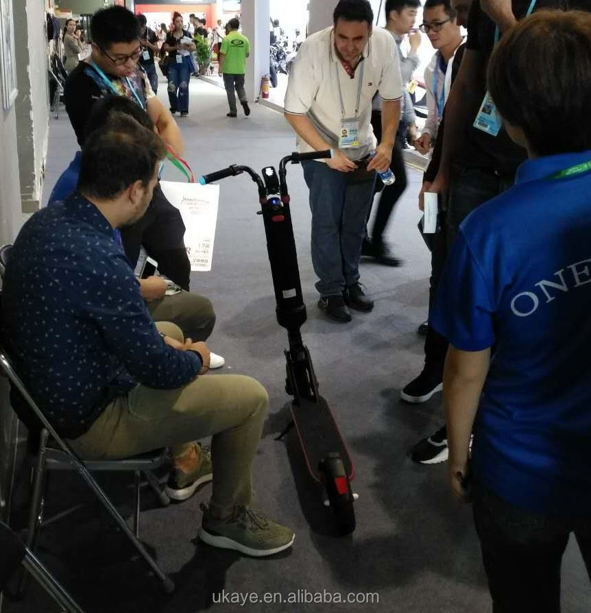 china supplier two wheel 8inch mini folding electric scooter