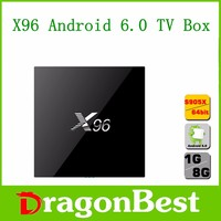 X96 Android 6.0 TV Box 1G/8G Amlogic S905X 4K Kodi Full HD Smart Media Player
