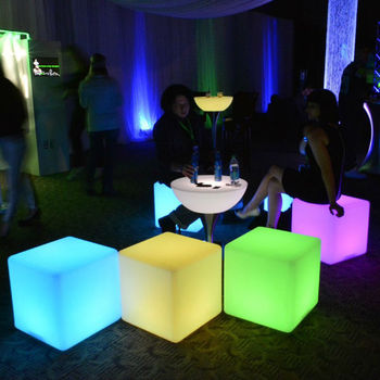 Decorative Plastic Light Cube 20cm 30cm 40cm 50cm SZ-G5050