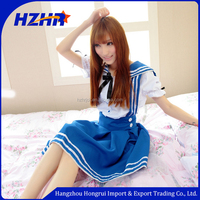2016 hot sale video japan sexy girl japan sex girl school girl costume