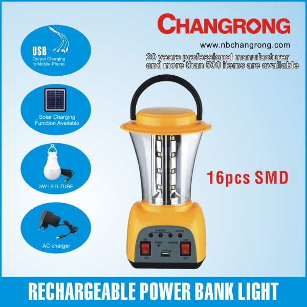 rechargeable portable home solar power lighting system for emergency and mobile charging