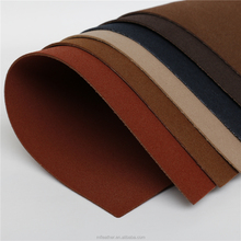 breathable pu leather fabric,suede leather for shoe upper, soft