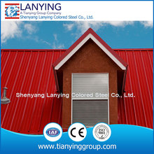 RAL color metal roofing corrugated steel sheet manufacturers