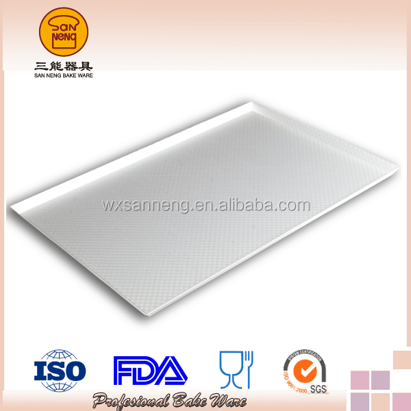 Anodized 1.5mm Thickness Kitchenware French Baking Tray Al .Alloy Corrugated Sheet Pan