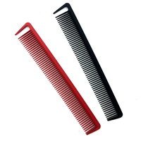 Comb Made in Factory Anti Static Carbon Professional Salon Black Hair Cutting Comb