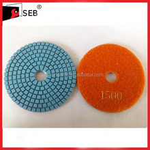 granite fabrication tools polishing pads SEB-PP110677