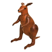 Australian National Treasure Lively Giant Inflatable Brown Kangaroo Balloon Toy