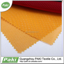 Warp Knitting 100gsm soft outdoor plastic mesh fabric for shoes