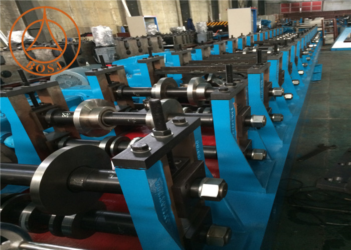 High Speed Framed Supported C U Channel Sheet Cold Roll Forming Machine