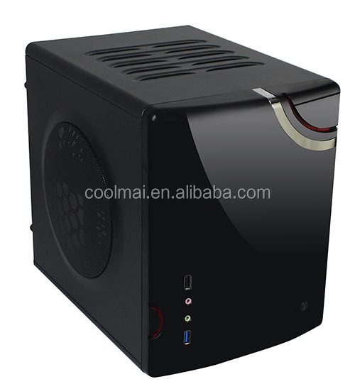 Small Micro ATX MB PC case and Power Supply,Small Micro ATX MB Computer case with Power Supply,Cube Computer Case -S-Micro-D