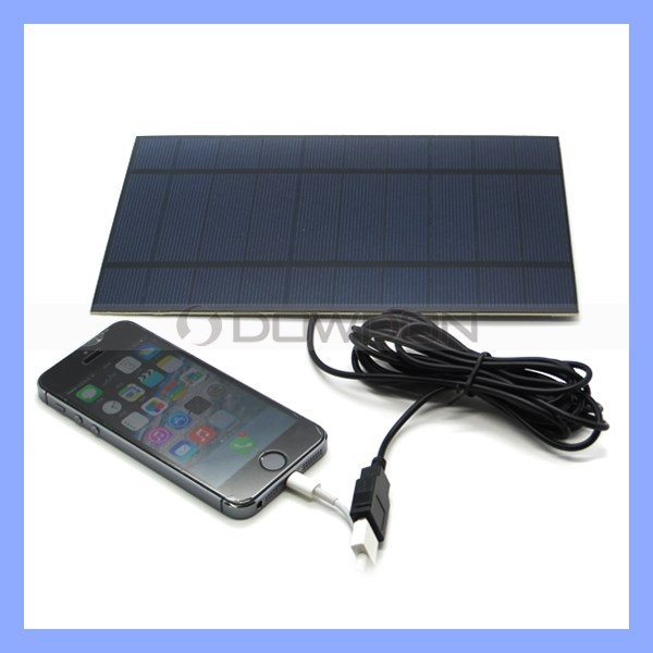 5W Portable Solar Kit for iPhone 6/6 Plus Samsung Note4 Solar Penel Kit