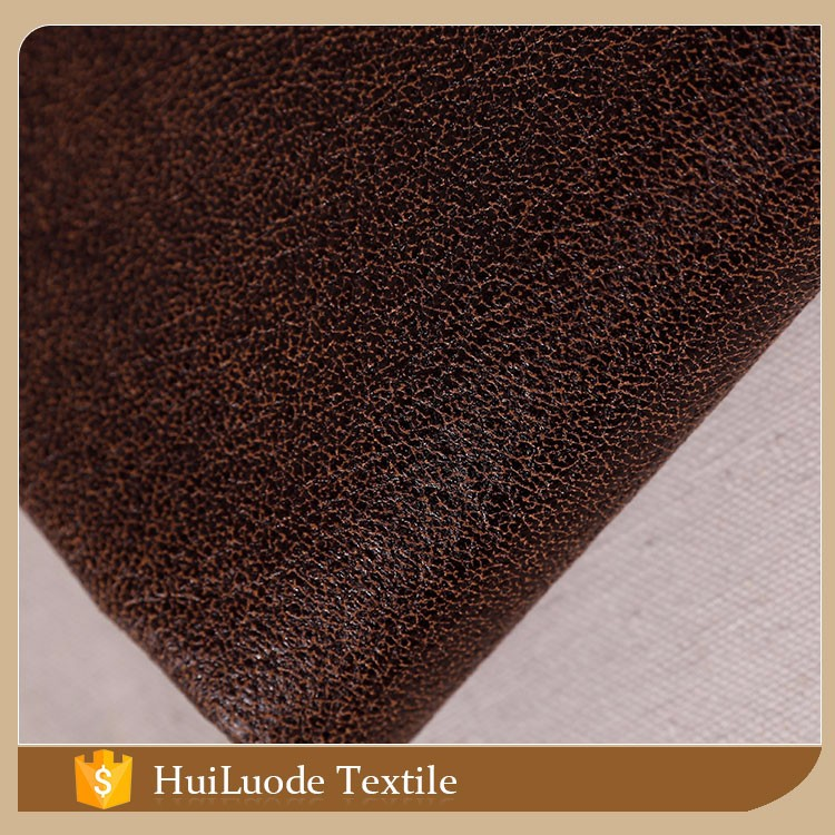 China supplier textile 50D*75D 380gsm bronzed suede 100% polyester fabric moroccan sofa from own factory