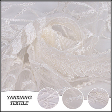 New Fashion Bridal Embroidered Tulle Lace Fabric