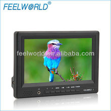 FEELWORLD 1080p 7 inch 800x480 cheap lcd monitor with hdmi input and output for DSLR