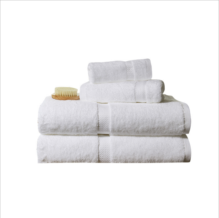 <strong>Manufacturers</strong> direct five-star hotel towel hotel beauty cotton towel processing customized embroidery logo
