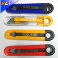 High quality snap-off retractable utility knife cutter