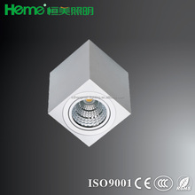 high quality 8W 12W square surface LED COB ceiling down light 560lm