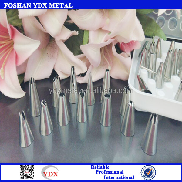 304stainless steel decorating tips set 52pcs