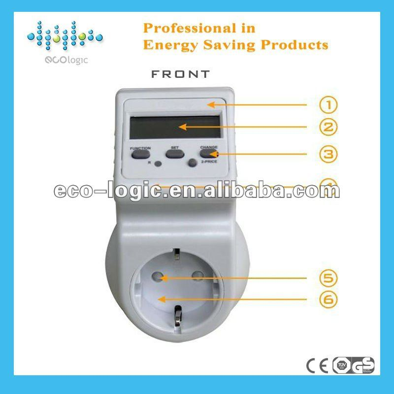 Wireless electricity monitor power meter energy saving meter