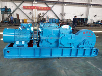 30 ton mine used double drum electric winch