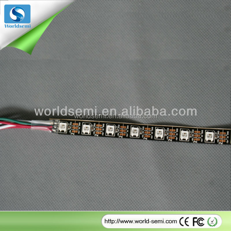 1m DC5V WS2812B LED rigid bar,32pixels/m;with milky cover