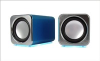 promotion gift 3.5mm rectangle shape mini computer speaker