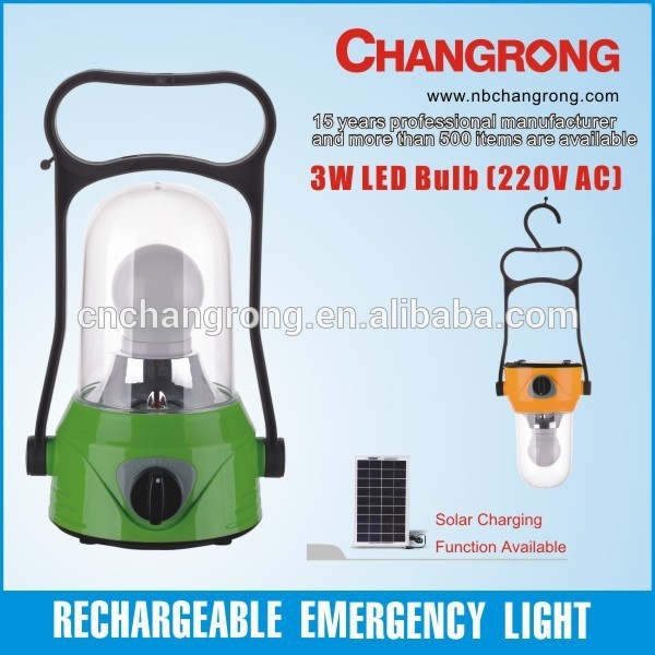 Changrong portable camping lantern LED light