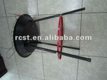 Red painted Charcoal BBQ Grill (RC-BBQ-01)