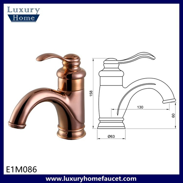 upc deck mounted faucet