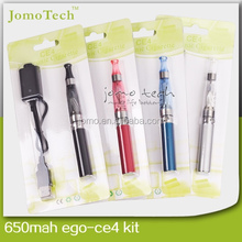 Xmas new e cigarette kit ego-t battery blister pack ego ce4 electronic cigarette from Jomo Alibaba best supplier