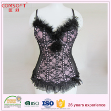 top Eruope lingerie brands sexy mature woman corset babydoll lingerie