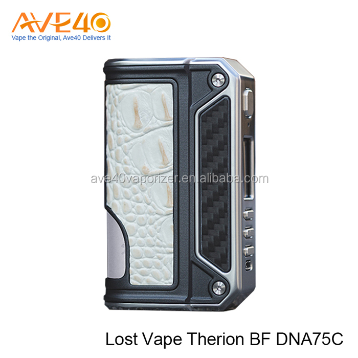 75W Output Power and Incredible 85% Efficiency Ratings Lost Vape Therion BF DNA75C Box Mod in Stock