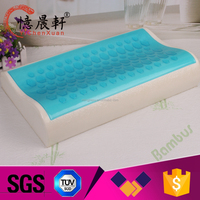 High End Gel Latex Curve Pillows Best For Neck