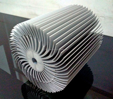 High quality anodized extruded LED aluminum heatsink