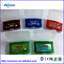 2016 Best Seller for GBA SP pokemon playing trade cards video games