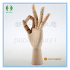 wholesale wooden mannequin hand with flexible joints