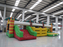 2016 new innovative giant inflatable obstacle course races, interactive inflatables