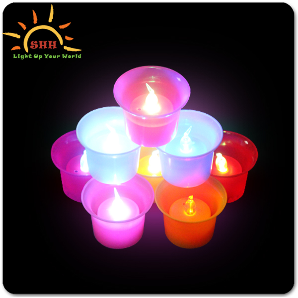 Custom flashing festival events decoration candle lights, China manufactory wholesale glow light up candle with factory price