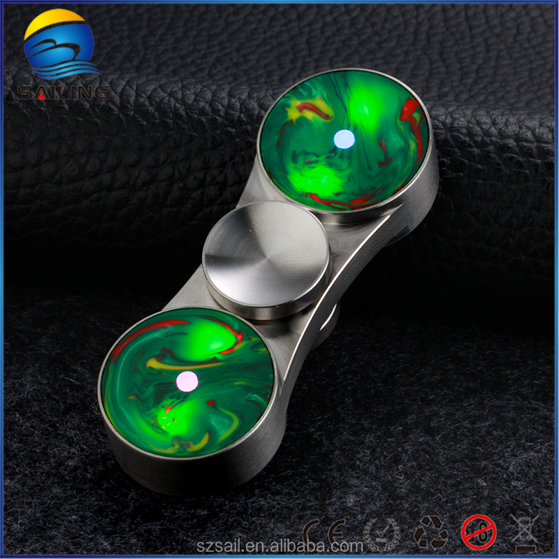 High end quality Fidget toys finger led hand spinner with R188 Bearing