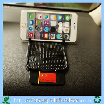 On Car Dashboard Anti Slip Rubber Grip Pad Mobile Phone Holder